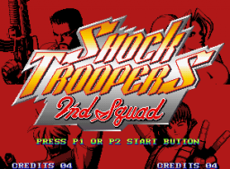 Shock Troopers 2nd Squad   © SNK 1998   (MVS)    1/4
