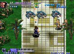 Shock Troopers 2nd Squad   © SNK 1998   (MVS)    2/4