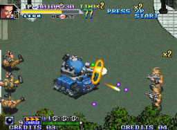 Shock Troopers 2nd Squad   © SNK 1998   (MVS)    3/4