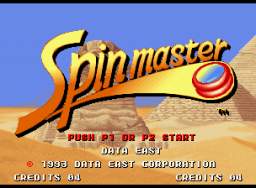 Spinmaster (MVS)  © SNK 1993   1/4