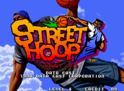 Street Hoop (MVS)  © SNK 1994   1/10