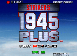 Strikers 1945 Plus (MVS)   © SNK 1999    1/3
