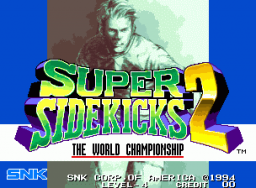 Super Sidekicks 2 (MVS)   © SNK 1994    1/6