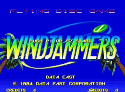 Windjammers (MVS)  © SNK 1994   1/3