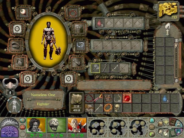 Planescape Torment (PC)   © Interplay 1999    4/7