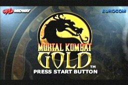 Mortal Kombat Gold (DC)  © Midway 1999   1/3