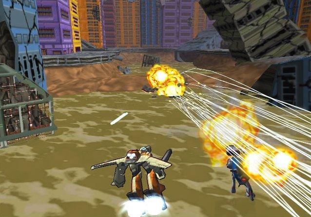 Robotech: Battlecry (PS2)  © TDK 2002   5/5