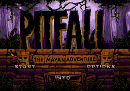 Pitfall: The Mayan Adventure (SMD)   © Activision 1994    1/4