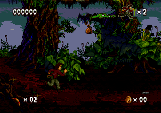Pitfall: The Mayan Adventure (SMD)   © Activision 1994    4/4
