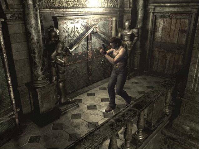 Resident Evil Zero (GCN)  © Capcom 2002   4/8