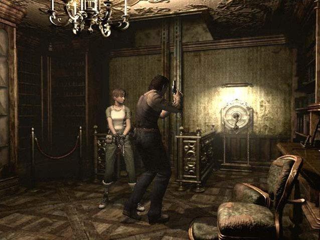 Resident Evil Zero (GCN)  © Capcom 2002   7/8