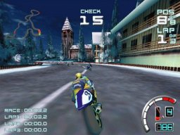 Suzuki Alstare Extreme Racing (DC)  © Ubisoft 1999   3/4