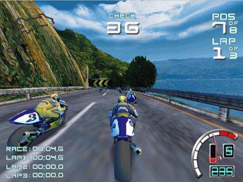 Suzuki Alstare Extreme Racing (DC)  © Ubisoft 1999   4/4