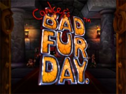 Conker's Bad Fur Day (N64)   © Nintendo 2001    1/3