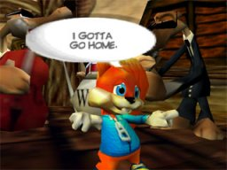 Conker's Bad Fur Day (N64)   © Nintendo 2001    2/3