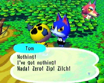 Animal Crossing (GCN)  © Nintendo 2001   4/7