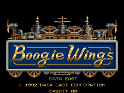 Boogie Wings (ARC)   © Data East 1992    1/7