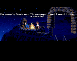 The Secret Of Monkey Island (AMI) &nbsp; &copy; U.S. Gold 1990 &nbsp;  1/5