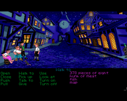 The Secret Of Monkey Island (AMI)  © U.S. Gold 1990   2/5