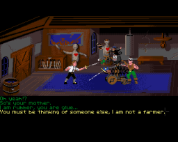 The Secret Of Monkey Island (AMI)   © U.S. Gold 1990    3/5