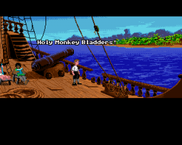 The Secret Of Monkey Island (AMI) &nbsp; &copy; U.S. Gold 1990 &nbsp;  4/5