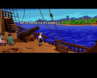 The Secret Of Monkey Island (AMI)  © U.S. Gold 1990   4/5