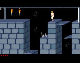 Prince Of Persia (AMI)  © Brøderbund 1990   4/5