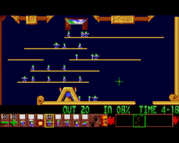 Lemmings (AMI)   © Psygnosis 1991    2/4