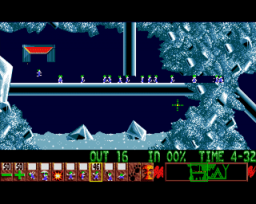 Lemmings (AMI)   © Psygnosis 1991    3/4