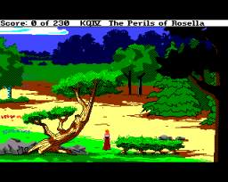 King's Quest IV: The Perils Of Rosella (AMI)   ©  1990    1/3