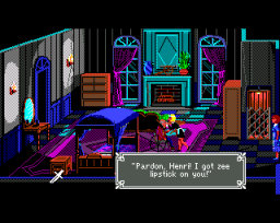 The Colonel's Bequest (AMI)  © Sierra 1989   3/3