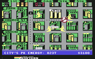 Ghostbusters (C64)  © Mastertronic 1984   4/7