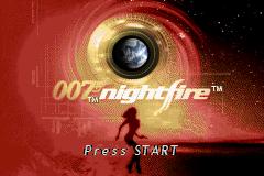 007: Nightfire (GBA)  © EA 2003   1/3