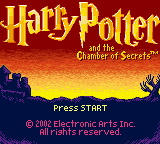 Harry Potter And The Chamber Of Secrets (GBC)   © EA 2002    1/3