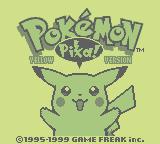 Pokémon Yellow: Special Pikachu Edition (GB)  © Nintendo 1998   1/3