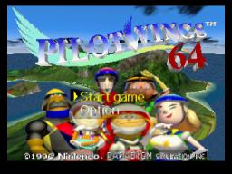 Pilotwings 64 (N64)  © Nintendo 1996   1/6