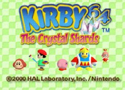 Kirby 64: The Crystal Shards (N64)  © Nintendo 2000   1/3