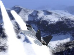 Ace Combat 04: Shattered Skies (PS2)  © Namco 2001   1/4