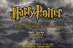 Harry Potter And The Philosopher's Stone (GBA)   © EA 2001    1/6