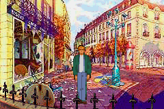 Broken Sword: Shadow Of The Templars   ©  1997   (GBA)    2/3