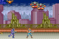 Contra Advance: The Alien Wars EX (GBA)  © Konami 2002   2/3
