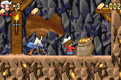 An American Tail: Fievel's Gold Rush (GBA)   © Swing! 2002    3/3