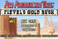 An American Tail: Fievel's Gold Rush (GBA)   © Swing! 2002    1/3