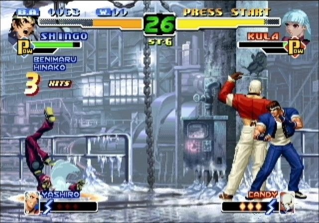 The King Of Fighters 2000 (DC)  © SNK 2002   7/8
