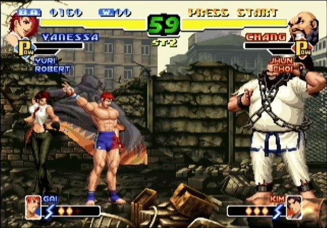 The King Of Fighters 2000 (DC)  © SNK 2002   8/8