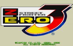 Street Fighter Alpha 3 (SS)  © Capcom 1999   1/10