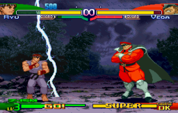 Street Fighter Alpha 3 (SS)   © Capcom 1999    3/10