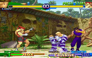 Street Fighter Alpha 3 (SS)   © Capcom 1999    4/10