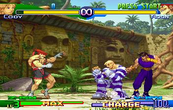 Street Fighter Alpha 3 (SS)  © Capcom 1999   4/10