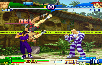 Street Fighter Alpha 3 (SS)   © Capcom 1999    5/10